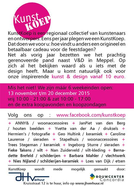 KunstKoep flyer 2015-2